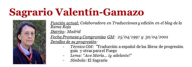 Sagrario Valentín-Gamazo - ficha RS